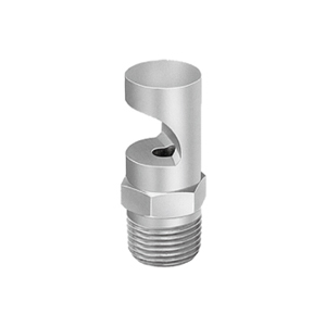 Wide Angle Deflected Flat Spray Nozzle